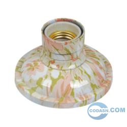 E27 colorful lamp holder