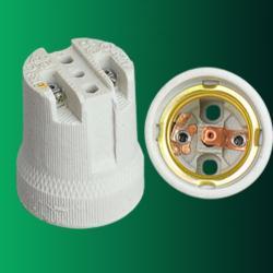 E27 F519 porcelain lampholder
