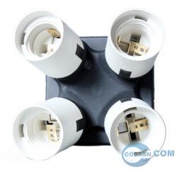 Photo lamp bulb holder E27 TO 4 E27