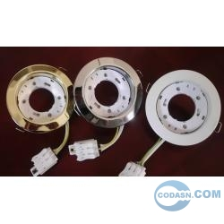 GX53 lamp socket with junction box