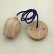 wooden pendant lamp holder