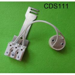 GU10  lamp holder with connector