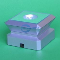 crystal LED light base