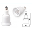 E11 to E26 lamp holder adapter
