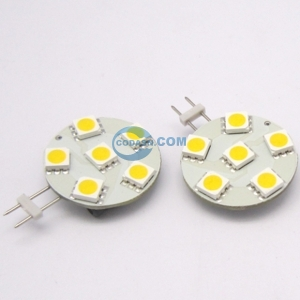 G4 6SMD5050 lamp(1W)