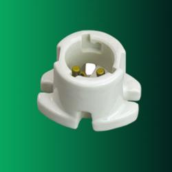 B22 porcelain lamp holder
