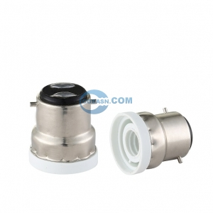 B22 to E14 lamp holder adapter