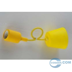 E27 pendant with nylon lamp holder