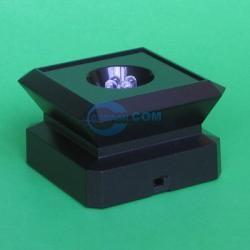 crystal LED light base