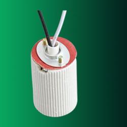 E14 porcelain lamp holder