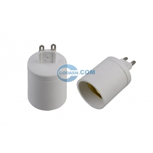 G9 to E27 lamp holder adapter