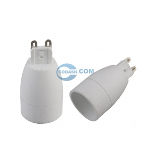G9 to E14 lamp holder adapter