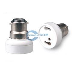B22 to GU24 lamp holder adapter