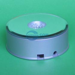 crystal LED light base rotating