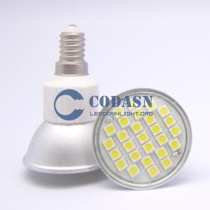 LED SPOT 3.8W SMD5050  JDR E14