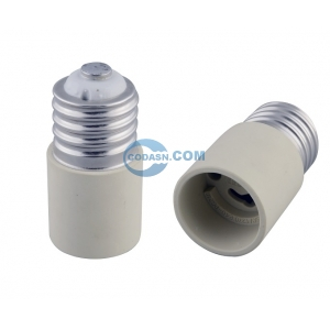 E40 to PGZ18 lamp holder adapter