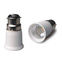 B22-E27 lampholder adapter