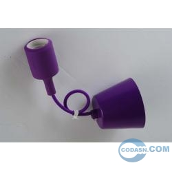 E27 pendant with nylon lamp holder